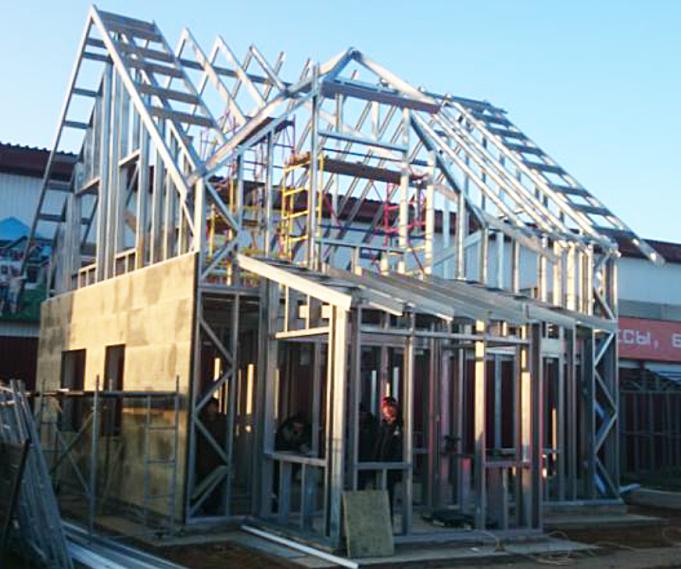 Строительство домов  по технологии ЛСТК